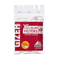 Gizeh Gizeh XL Slim Filter 6 mm 100 Pieces